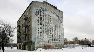 Znikające warszawskie murale reklamowe