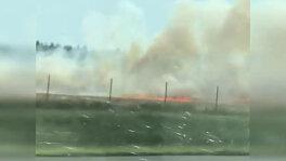 Pożar 30 hektarów ścierniska