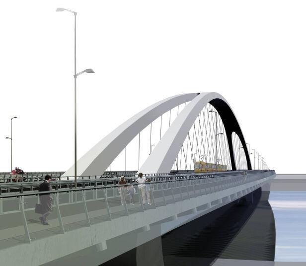 Tak może wyglądać most Krasińskiego ZMID