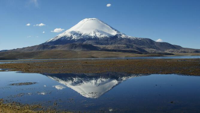 Wulkany jak butelki, zapadają się po trzęsieniu ziemi