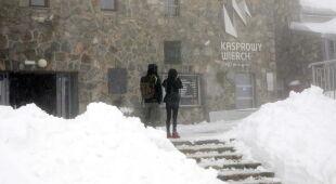Zima na Kasprowym Wierchu (PAP/Grzegorz Momot)