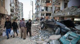 Tragiczne skutki trzęsienia ziemi w Iranie