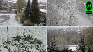 Piękna zima tej wiosny... śnieg na południu Polski