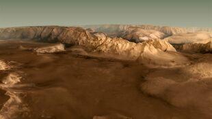 Wybierz się w 3-minutowy lot nad Marsem