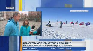 Małgorzata Wojtaczka zdobyła Biegun Południowy